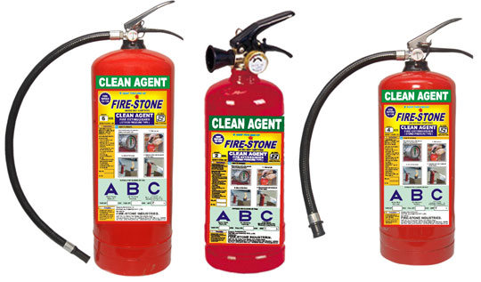 Clean Agent Automatic Fire Extinguisher Clean Agent Fire Extinguisher